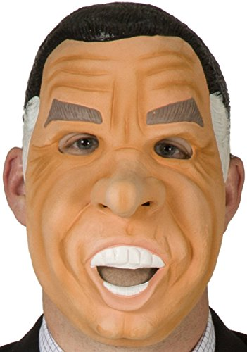 80sTees Point Break Richard Nixon Mask Tan