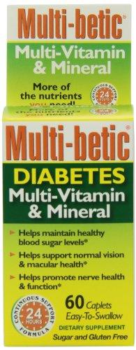 Multi-Betic Multi-Vitamin/Mineral/Antioxidant Tablets