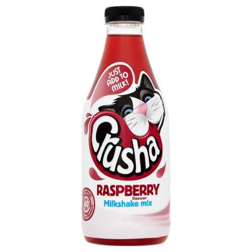 Crusha Milkshake Mix Raspberry Flavour 1 Litre