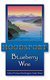 NV Hoodsport Blueberry Wine 750 mL