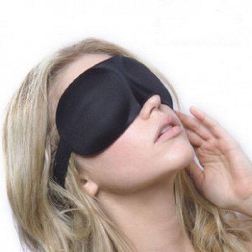 EOZY Mindfold Sleeping Eye Mask Eyepatch Blindfold Shade Travel Sleep Aid Cover Light Guide Relax