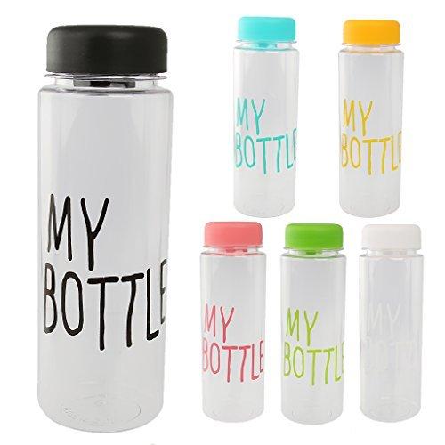 Lsv-8 Fünfhundertml Wiederverwendbare Trinkflasche Kunststoff Sportflasche Trinkflasche Bottle Saft Frucht Milch Tasse Hand Flasche mit Tasche KLa63Vt5