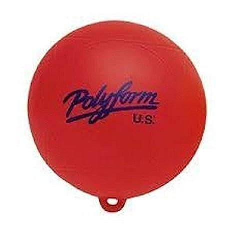 8 x 8.5 Polyform 28539331 WS Series Water Ski Buoy Red