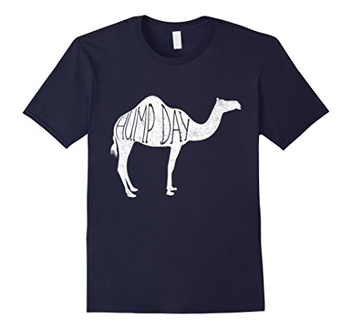 Mens Hump Day Camel Silhouette Graphic Tee 3XL Navy