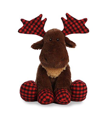 (Aurora World Lumberjack Plush Toy, Brown, 17