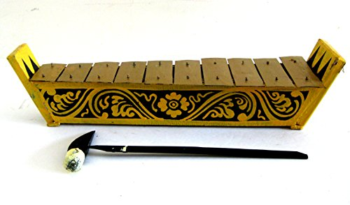 Meditation Chime Xylophone Percussion Energy Chimes Wooden Xylophone, Handpainted - JIVE BRAND