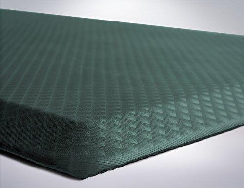 "Price comparison product image The Original 3 / 4"" KANGAROO (TM) Non-Slip Anti-Fatigue Comfort Mat,  Ergonomically Engineered,  Non-Toxic,  Waterproof,  70x24 inches (Hunter Green)"