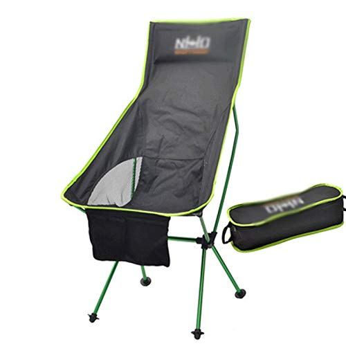 Wen Ying Silla de Camping Plegable for Adultos Silla Plegable for ...