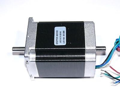 Stepper Motor - 267 oz.in Dual Shaft NEMA23 (200 steps/rev)