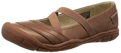 KEEN Women's Rivington II Criss Cross CNX Mary Jane, Brown, 6 M US