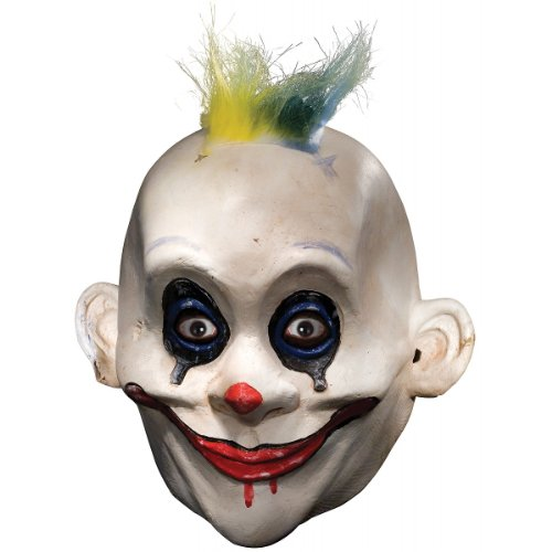 Joker Henchman Costume (Rubie's Costume Co Men's Batman The Dark Knight The Joker Henchman Grumpy Adult Mask, Multi, One Size)