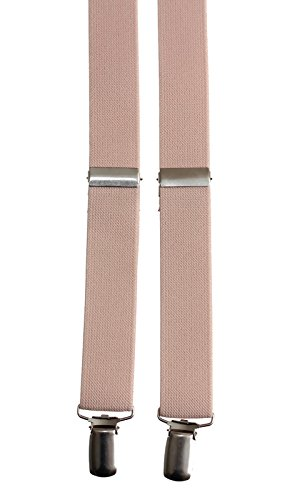 Kids Peach Adjustable Suspender and Bow Tie Set, Fits on Average Ages 4-7 by Tuxgear (Image #2)