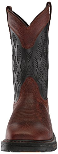 Ariat Mens Workhog Venttek Matrix Construction Boot Brown Ruddy/Charcoal kwfTI6E