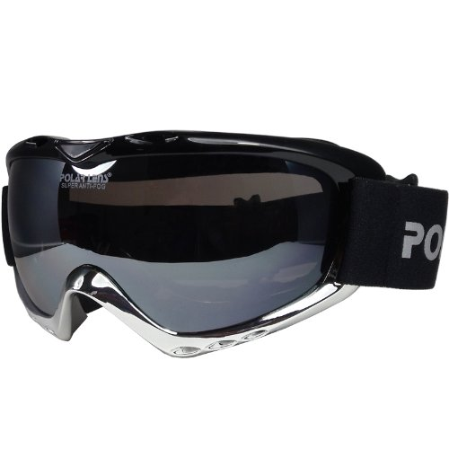 Polarlens PG9 Snow Goggles / Snowboard Goggles / Ski Goggles / Euopean Design and Performance / Helmet Compatible with Extra Long Adjustable Straps, Outdoor Stuffs