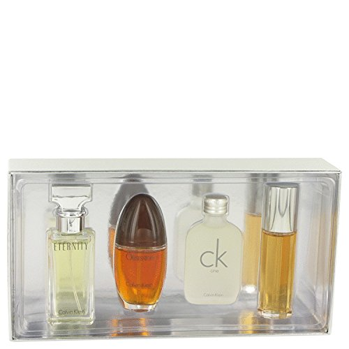 Cãlvin Klèin Gift Set - Mini Variety Gift Set Includes Eternity, Obsession C/k One, Escape, All 1/2 oz Sprays Except CK One is a (Obsession Gift Set Spray)