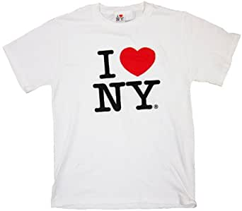 7d9de0f2e50c I Love NY T-Shirt - Size  Adult Small - Color  White