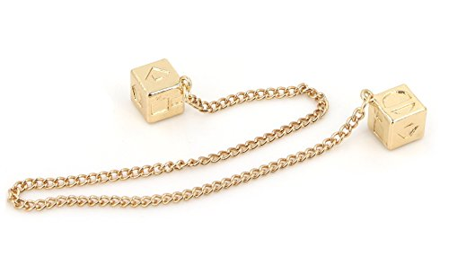 Men's Lucky DICE Costumes Charms Jewelry for HAN Solo Cosplay Replica Accessory (Chain Cube) ()