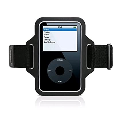 60ec2bb286009 Griffin 8127-5GSTRLNB Streamline Armband for iPod Classic and iPod 5G -Black