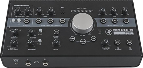 Mackie Audio Interface, 4x3 (BIG KNOB STUDIO PLUS)