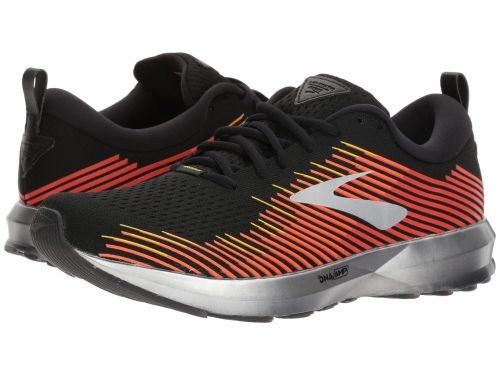 Brooks(ブルックス) メンズ 男性用 シューズ 靴 スニーカー 運動靴 Levitate - Black/Red/Orange [並行輸入品] B07BMBTX6X