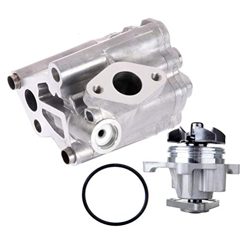 CCIYU New Oil Pump Water Pump Compatible with 2003-2007 Ford Focus 2006-2008 2010-2012 Ford Fusion (2010 Ford Escape Water Pump Belt Replacement)