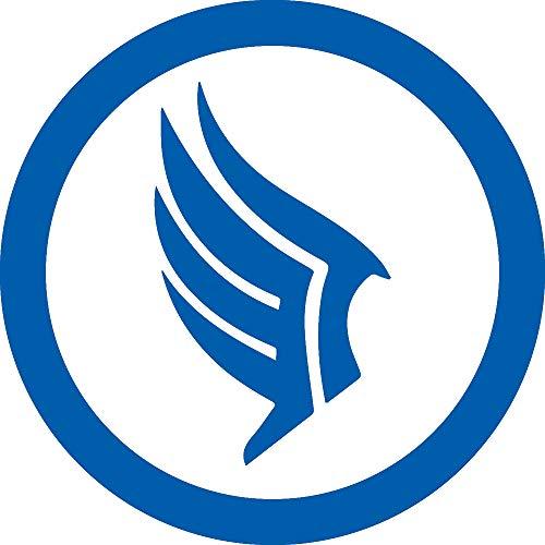Mass Paragon (Azure Blue) (Set of 2) Premium Waterproof Vinyl Decal Stickers for Laptop Phone Accessory Helmet Car Window Bumper Mug Tuber Cup Door Wall - Paragon Racing
