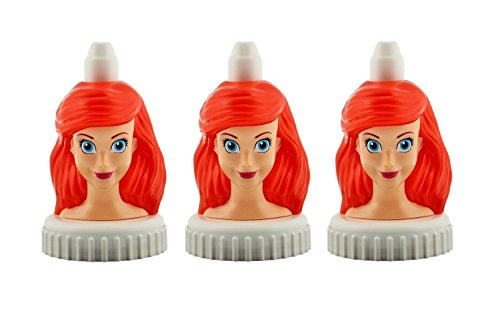 good2grow spill-proof toppers 3-pack, The Little Mermaid - Ariel