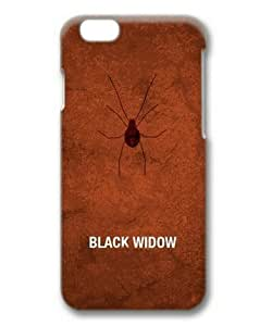 iphone 6 plusd 5.5 Case, Black Widow Hard Protective Case for iphone 6 plusd 5.5 3D Hard Plastic PC Material
