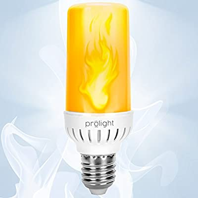 Prolight Flame Effect Led Bulb 3 Modes Flickering Flame Simulated Decorative Lamp in Warm Fire Color
