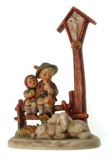c1972 Goebel Hummel Wayside Devotion figure 28/II NEGR141