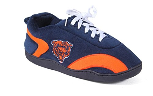 CHI05-3 - Chicago Bears - Large - Happy Feet Mens and Womens All Around Slippers