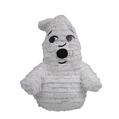 Pinatas Friendly Ghost, Party Game, 3D Centerpiece Decoration and Photo Prop for Halloween or Ghostbusters Birthday]()