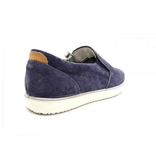 Imac Scarpe Uomo Sneakers in camoscio Blu 103151-72168-009
