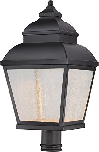Minka Lavery Outdoor Post Lights 8266-66-L Mossoro LED Outdoor Post Lighting, Black ()
