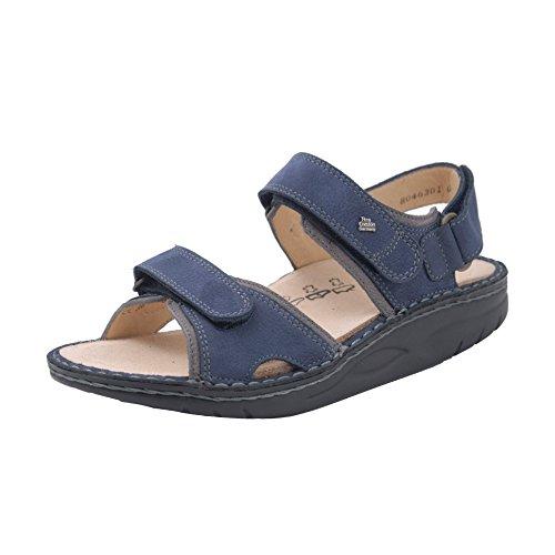 Comfort Nubuck lake Finn grey Womens 1561 Yuma Sandals blau Blu 8qIHdIvw