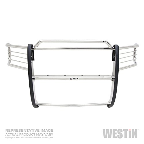 - Westin Automotive Products 45-3900 Stainless Steel Sportsman Grille Guard