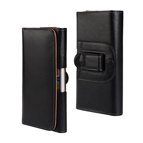 iPhone 6 Plus Case , Cozyswan Leather Hard Back Case Slim Fit Protective Cover Snap on Case for iPhone 6 Plus