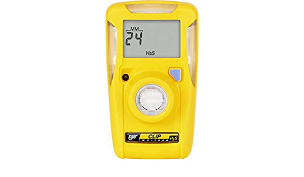 BW Technologies BWC2-H510 BW Clip Single Gas H2S Monitor, 5/10: Amazon.com: Industrial & Scientific
