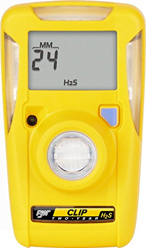 BW Technologies BWC2-H510 BW Clip Single Gas H2S Monitor, 5/10