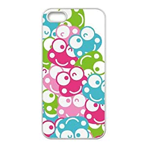 iPhone 5 5s Cell Phone Case White Keroppi Winking Faces JNR2996943