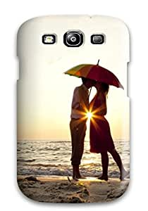 Austin B. Jacobsen's Shop 9563531K79642399 Premium Tpu Couple Kissing Under Umbrella Cover Skin For Galaxy S3