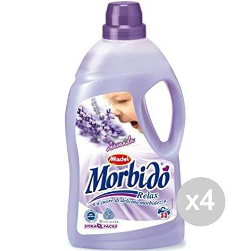 Madel Juego de 4 Suavizante Suave LT 4 Lavanda Relax detergente ...