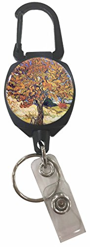 Buttonsmith Mulberry Sidekick Retractable Carabiner
