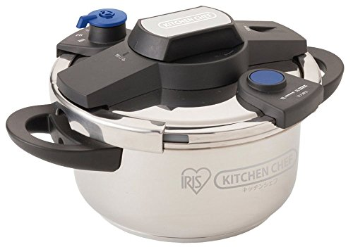 IRIS OHYAMA easy opening and closing pressure cooker 4L EH-KPC-40E by IRIS OHYAMA, Inc.