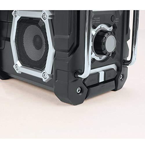 Makita XRM04B-R 18V LXT Cordless Lithium-Ion Bluetooth FM/AM Job Site Radio (Bare Tool) (Renewed) by Makita (Image #7)