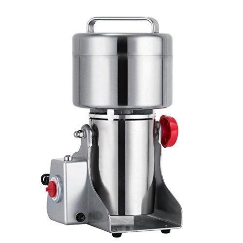 Mophorn Grain Grinder Electric 500g Mill Powder Machine 25000RPM Mill Grinder Electric 2300W Grain Grinder Machine 50-300 Mesh (500g)