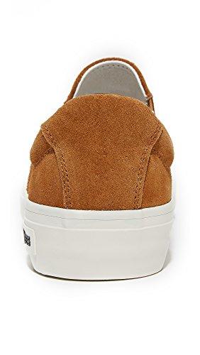 Seavees Womens X Derek Lam 10 Crosby Hawthorne Slip On Sneaker Cognac