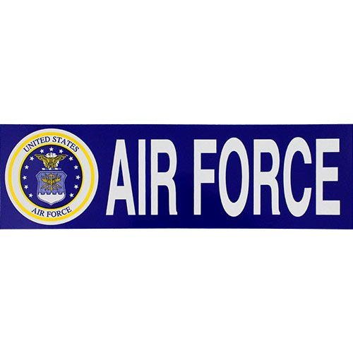 (US Air Force With Seal Bumper Sticker)