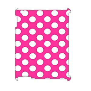TOSOUL Polka dot Pattern 3D Case for iPad 2,3,4