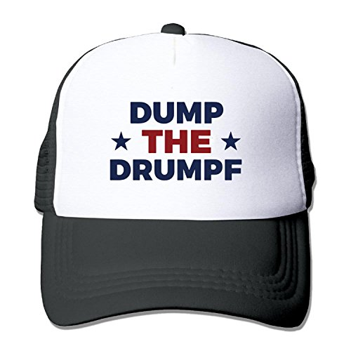 2016 Dump Drumpf Trump Truck caps Cool Men Women hat Black (5 colors)